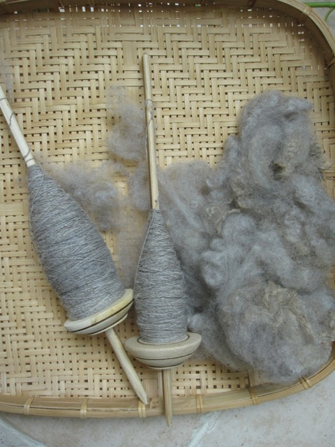 The fiber is so beautiful - from  Catawampus Farm  and Fiber