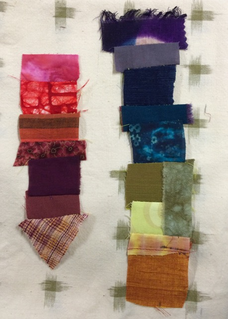 patchwork color study