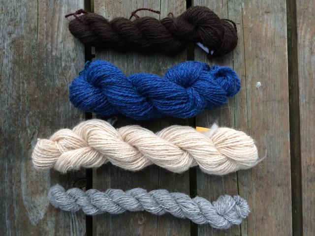 handspun wool alpaca spindles