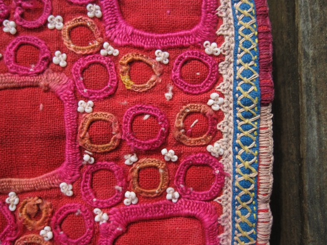 embroidery detail textile india