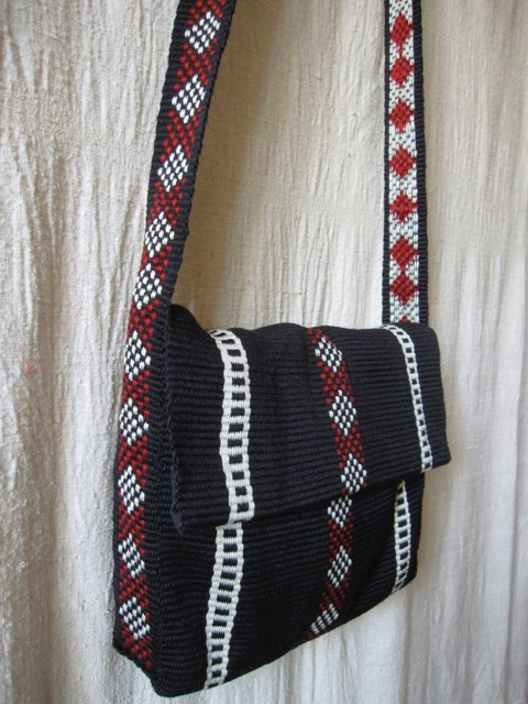 bedouin weaving bag backstrap