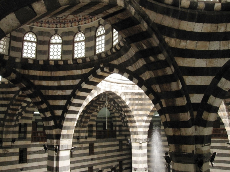 Interior of a Khan in Damascus, Syria, 2011.
