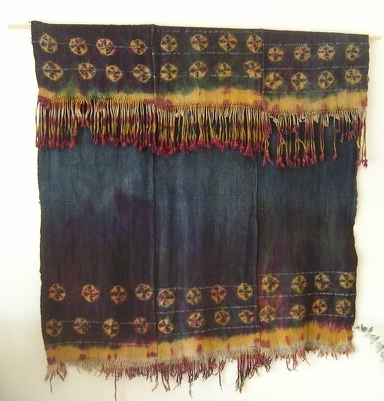 From my collection, handwoven wool  lingtse , or cape, from Zanskar, India