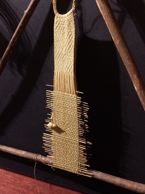 Triangular frame loom  - Mayoruna people of lowland Peru