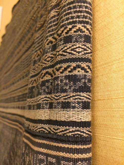 Another detail of the sarong, Hainan, China