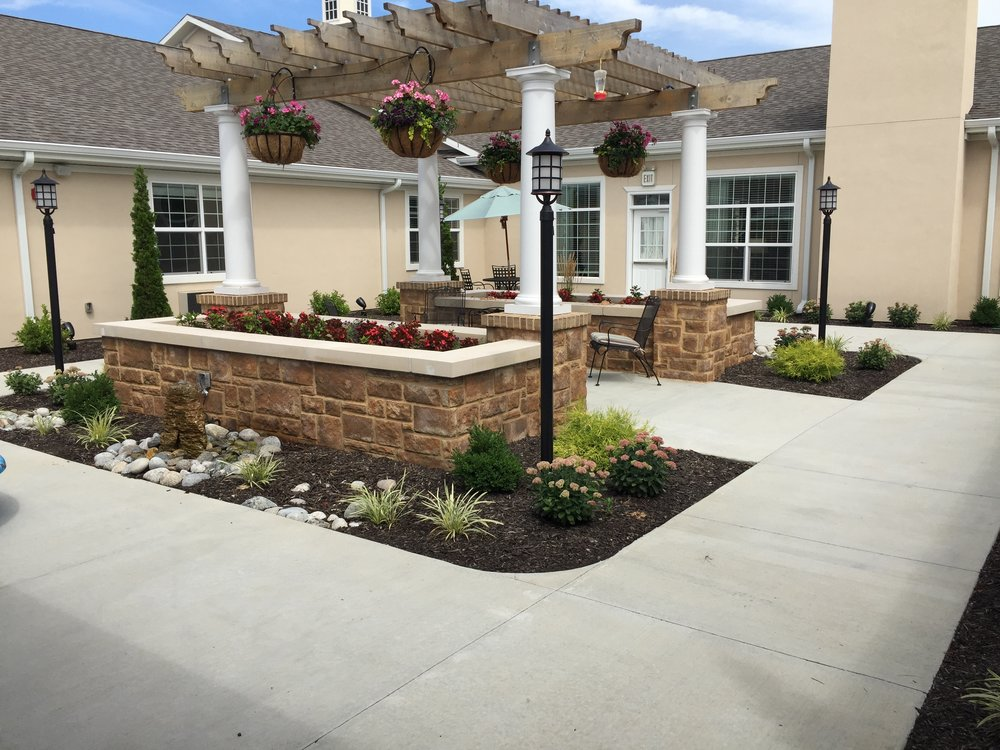 Audrie Seeley Landscaping And Garden Center : Benton house audrie seeley landscaping