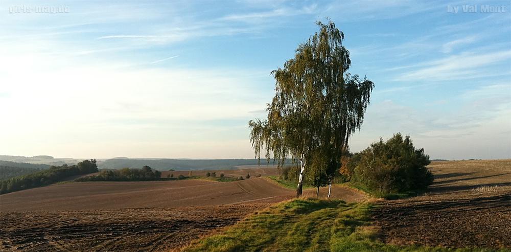 Landschaft bei Gera