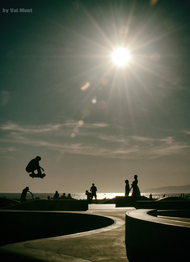Skatepark am Venice Beach / Los Angeles