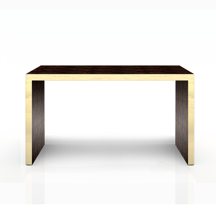 CONSOLE TABLE IN TUCKER IN GOLD