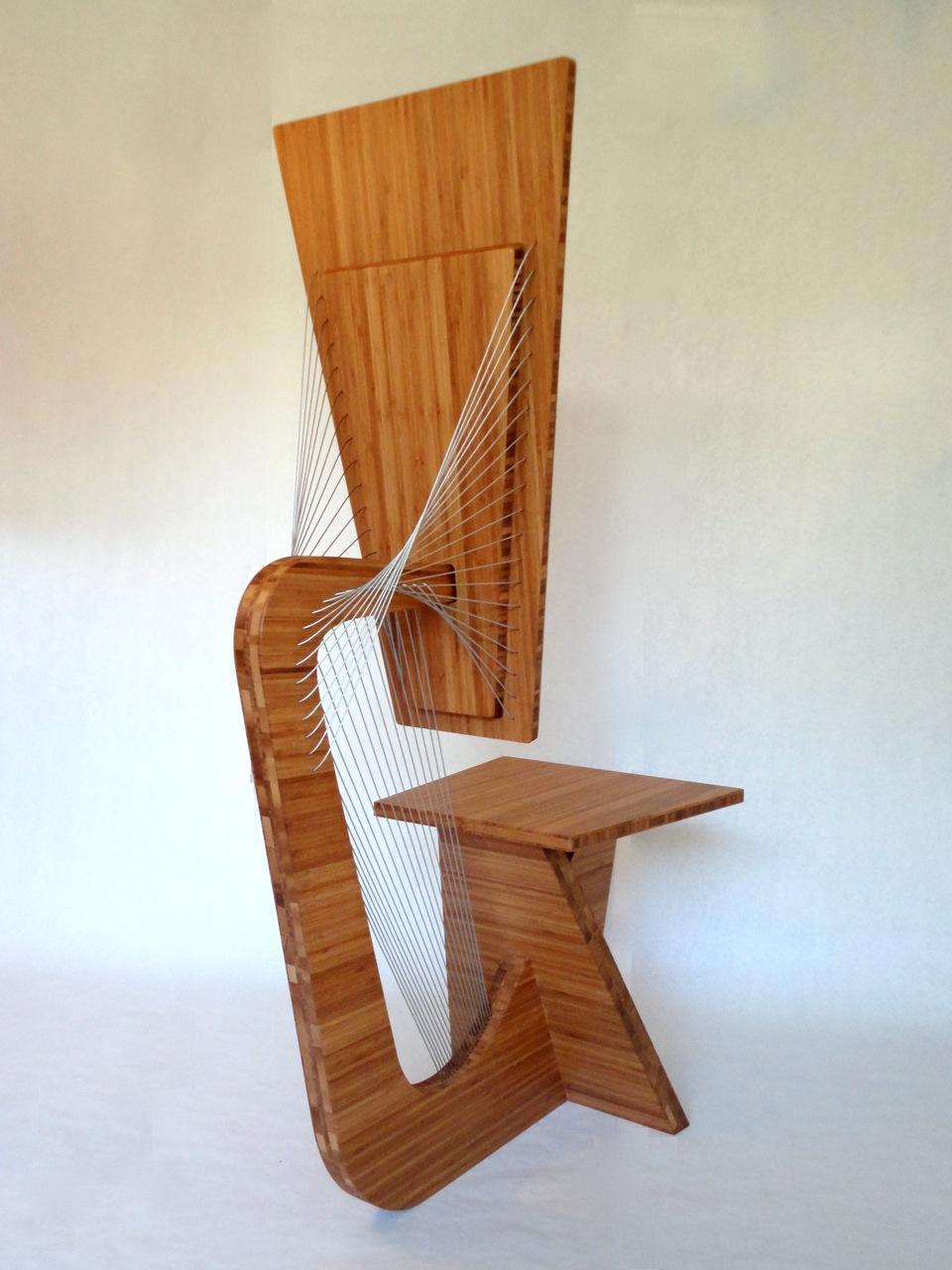 Bamboo Desk Chair