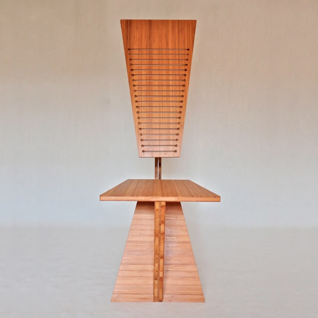 Bamboo Desk Chair by Robby Cuthbert