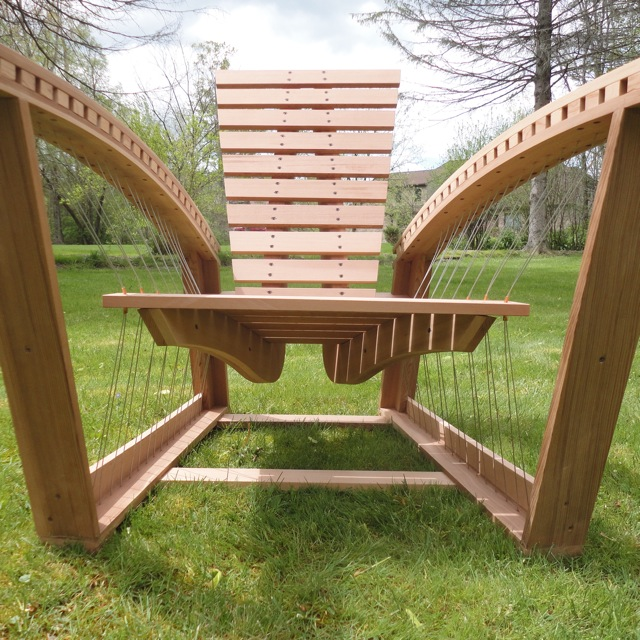 Adirondack chair by Robby Cuthbert