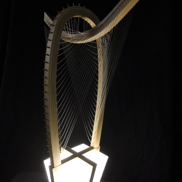 Wing Lamp by Robby Cuthbert
