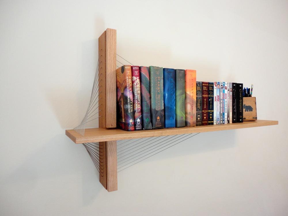 shelf by robby cuthbert. A modern floating shelf made of wood ...
