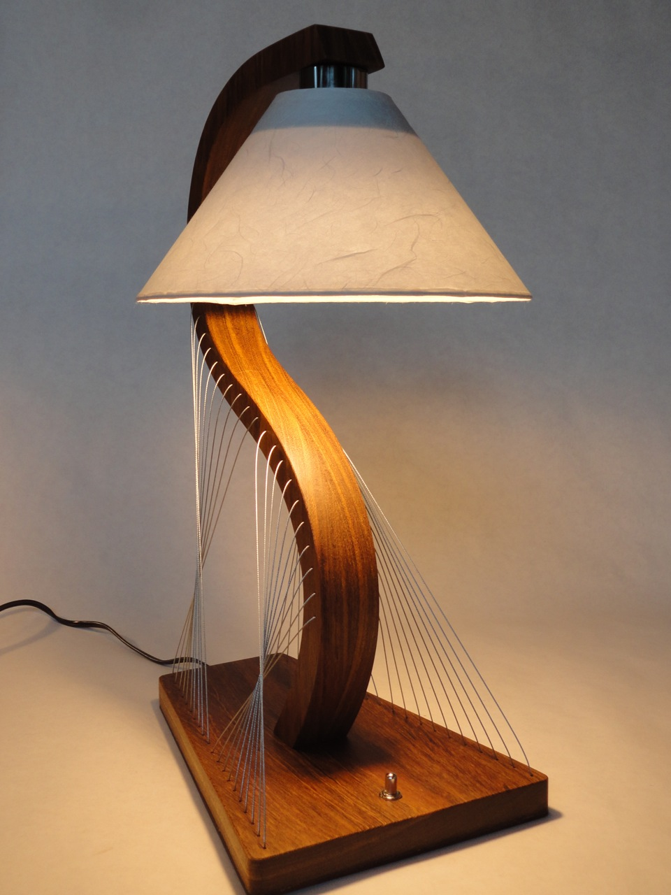 Custom bedside lamps robby cuthbert design - Pictures of bed side ...