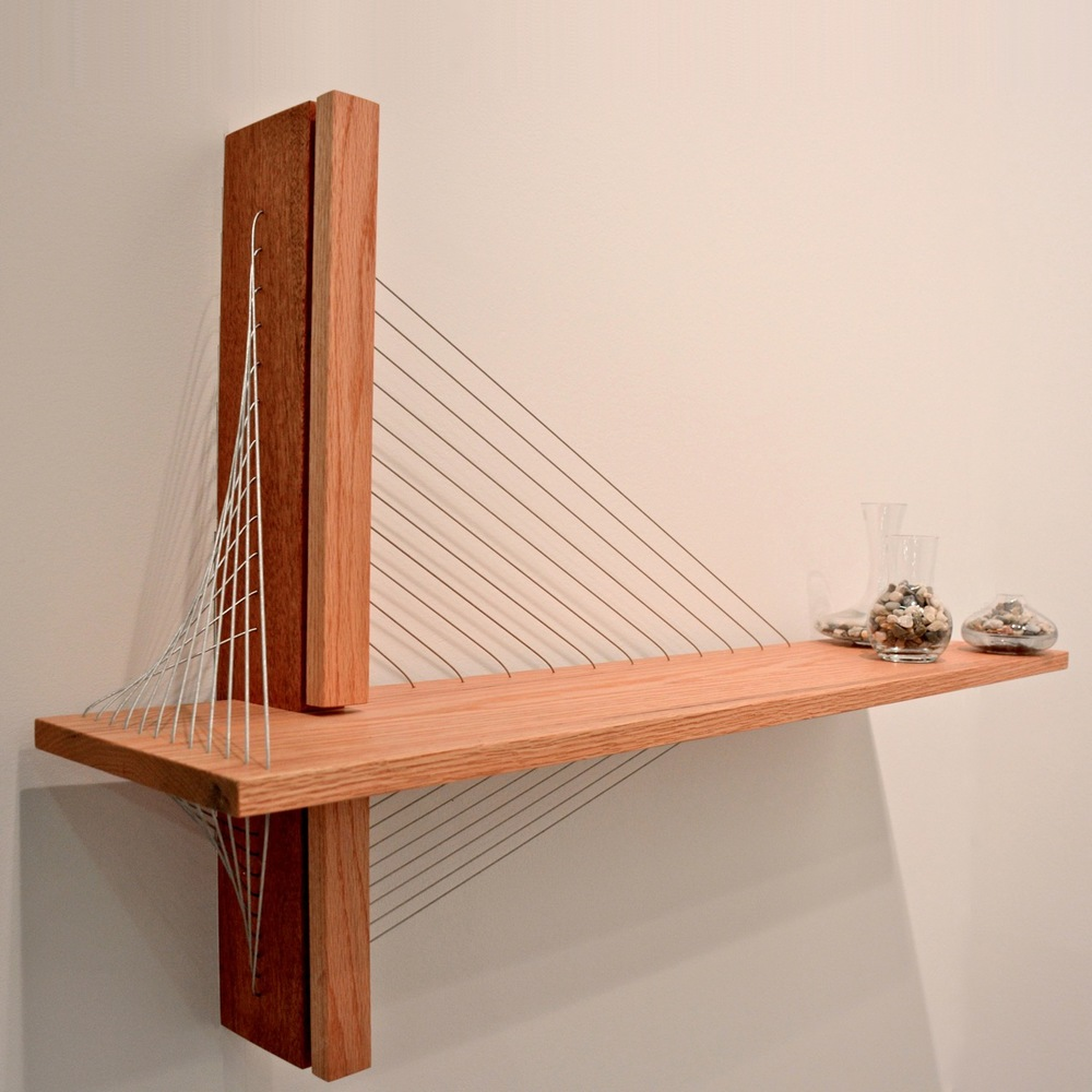 Suspension Shelf by Robby Cuthbert