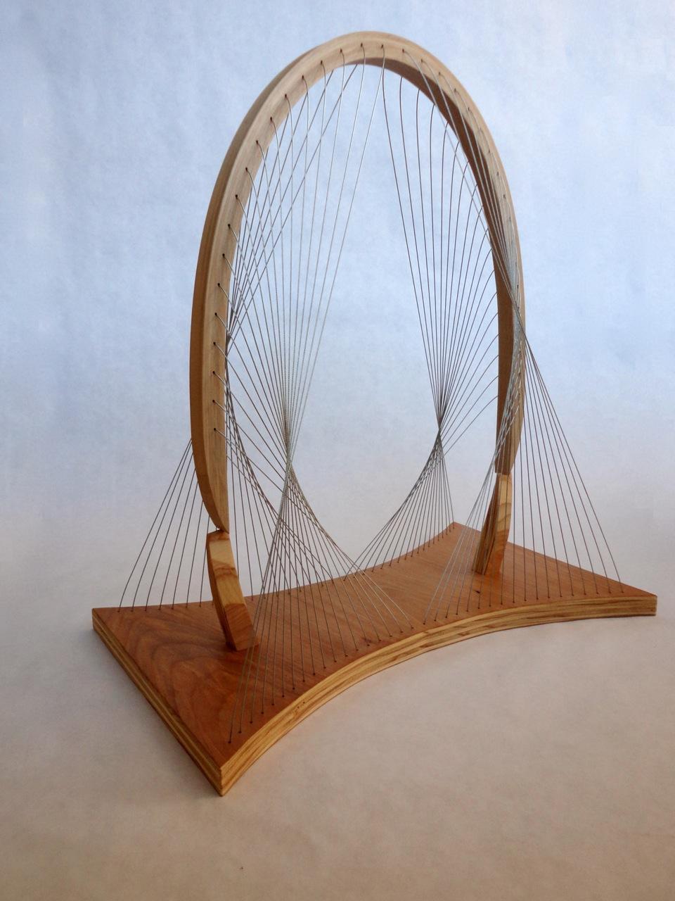 The original Balanced Arch sculpture