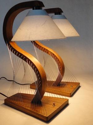 Custom bedside lamps