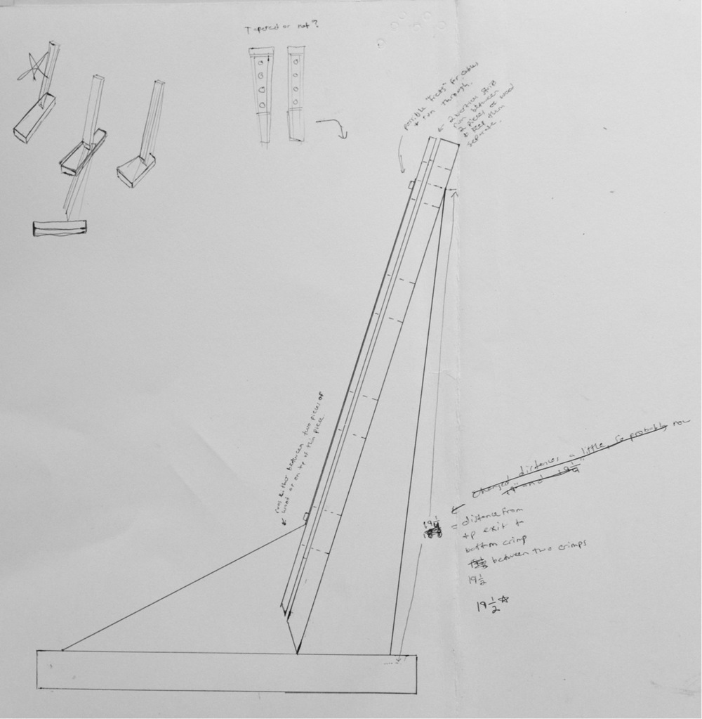 Drawing for Balance Wine Rack