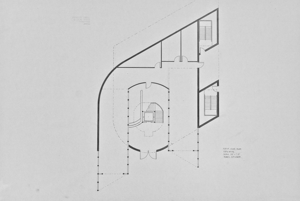 Fire Station - Plan