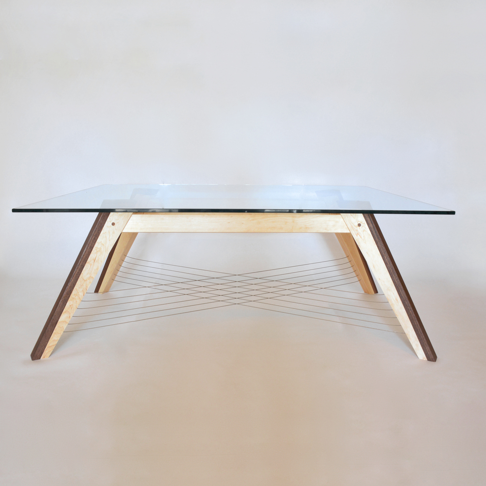 X-Weave Coffee Table by Robby Cuthbert