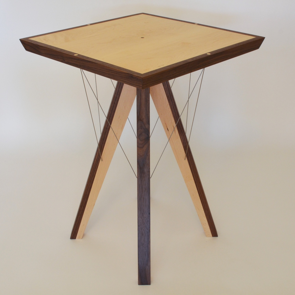 Pinnacle End Table by Robby Cuthbert