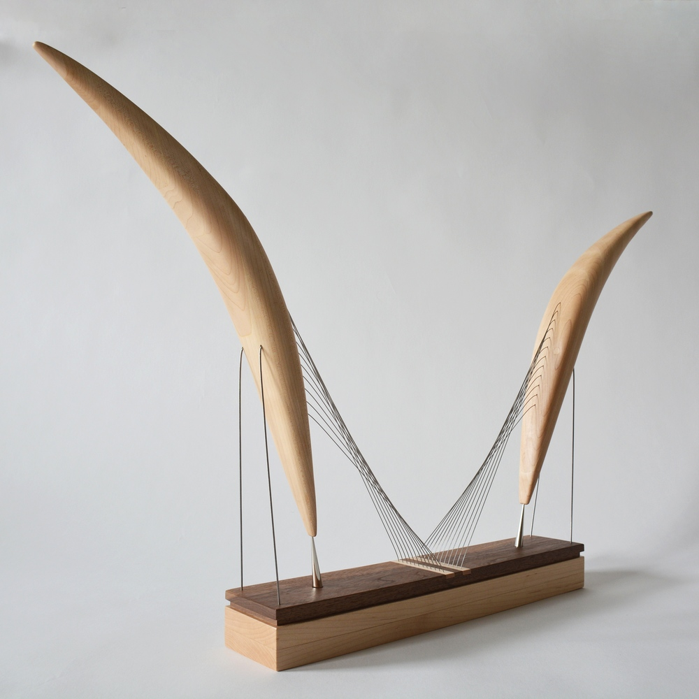 Wings - A sculpture by Robby Cuthbert