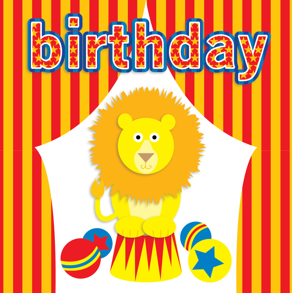 Kids Birthday Card for Design Direction