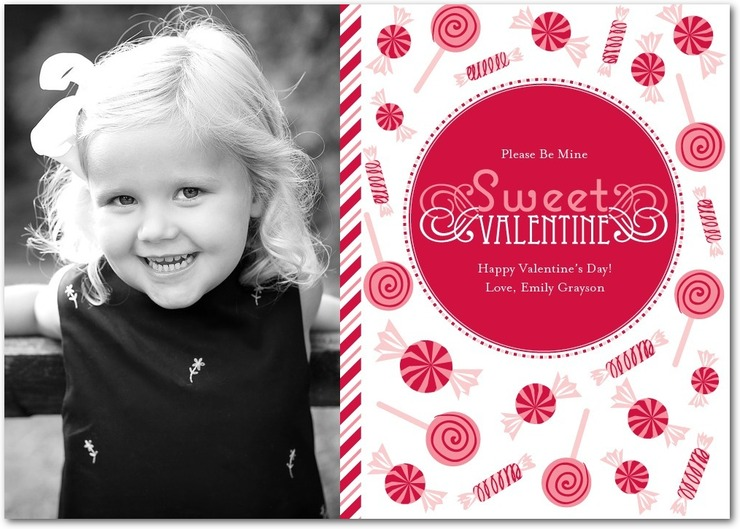 Sweet Valentine Photocard for Tinyprints