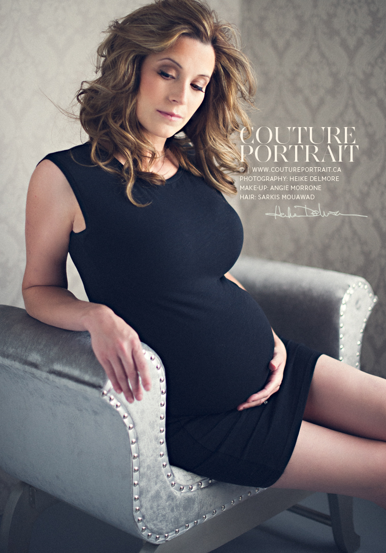 Windsor Portrait Photography Maternity | www.coutureportrait.ca | by Heike Delmore