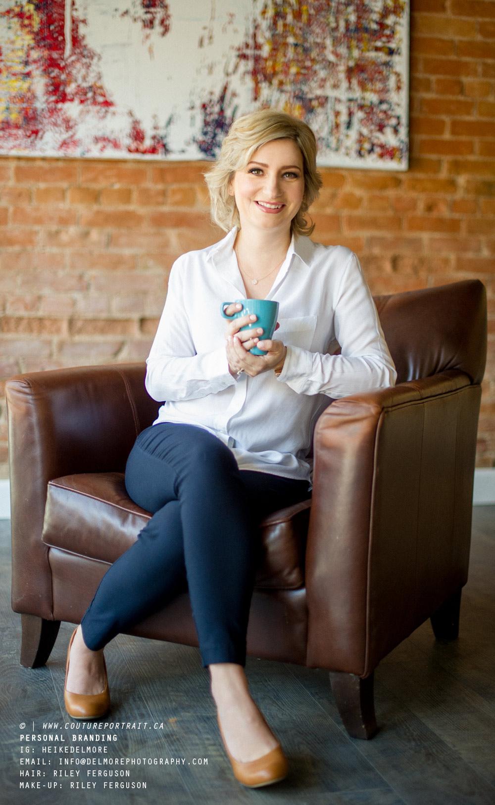 Personal Branding photography Heike Delmore - Nest Realty Meg Lyttle