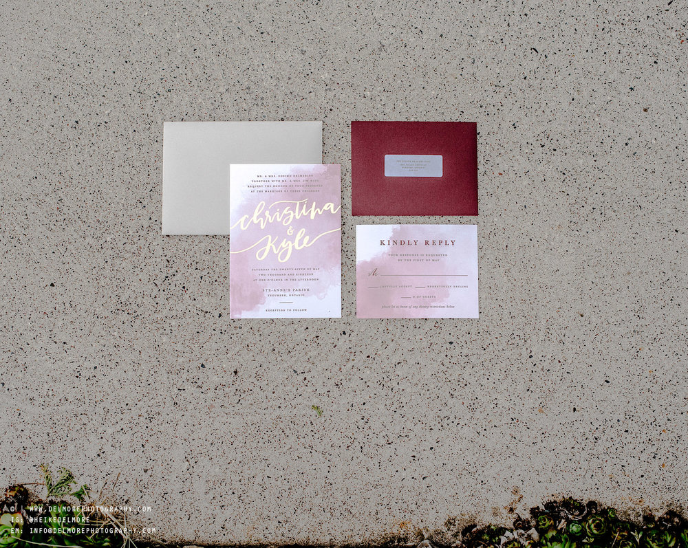 Windsor Wedding Photographers Invitations