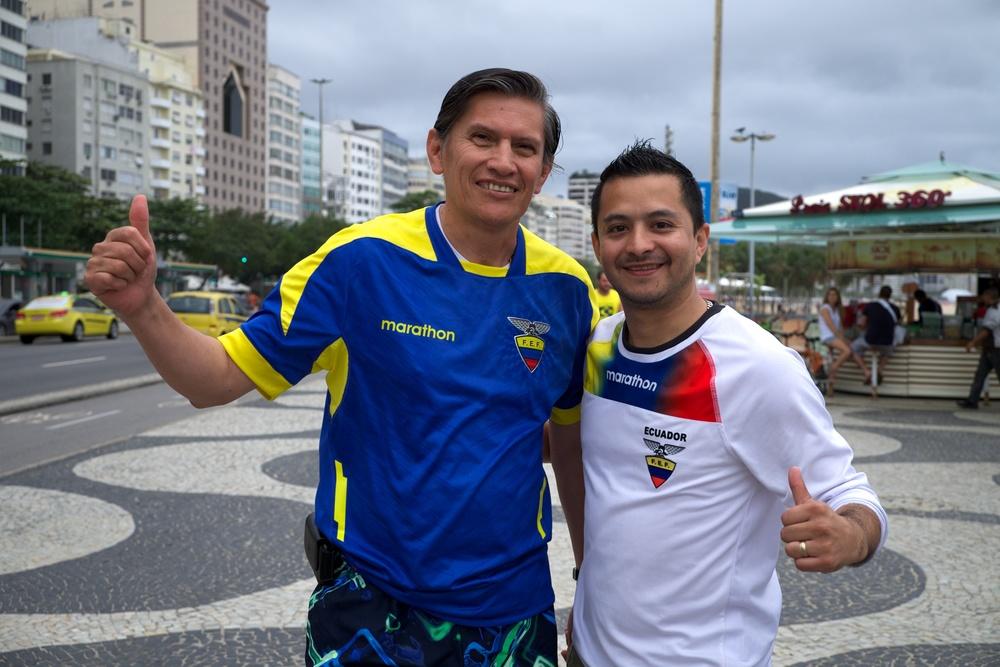 Jorge, Ricky. Ecuador