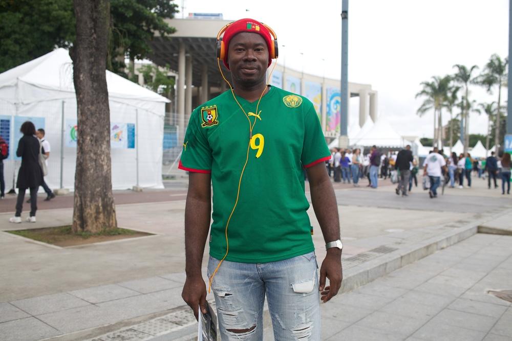 Franklin. Cameroon.