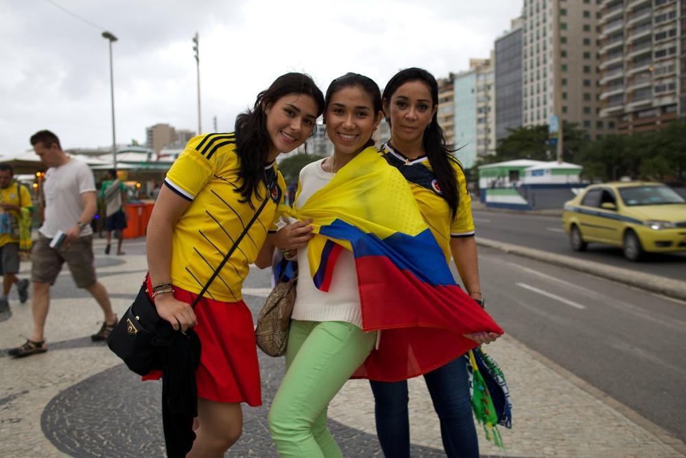 Beatriz, Manuela, Laura. Colombia
