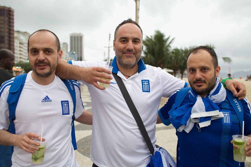 George, John, Elias. Greece
