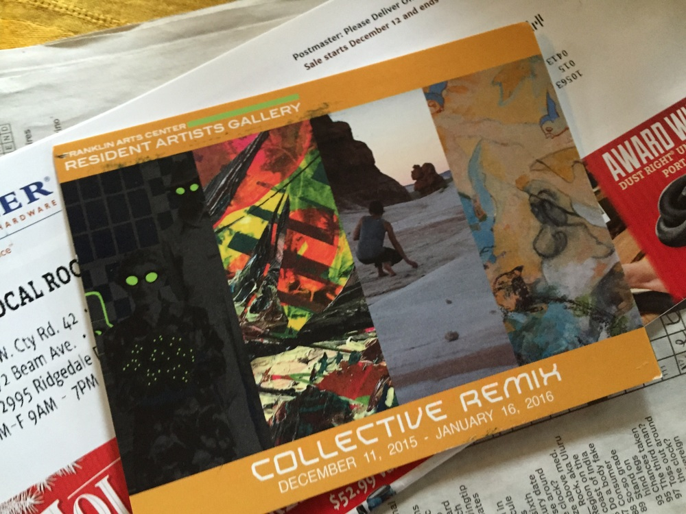 Collective Remix , Franklin Arts Center Resident Artists Gallery: December 11, 2015 - January 16, 2016