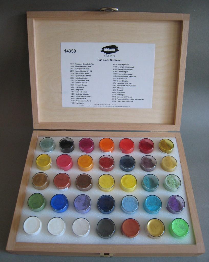 Pigment Assortment