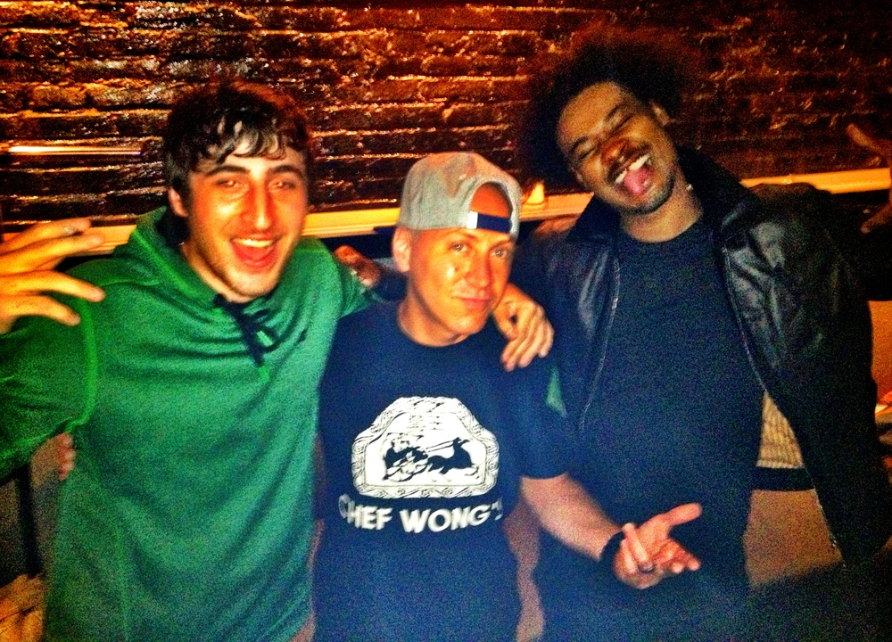 Scott Stallone with Danny Brown and Sywlkr