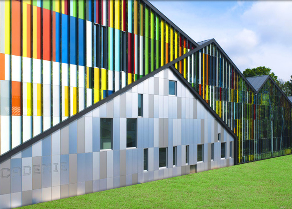 Alucoil Launches Expanded Color Offering Building
