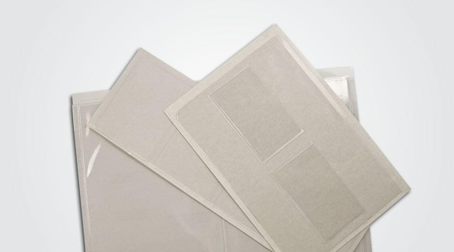 Custom Adhesive Pockets and Sleeves