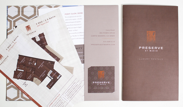 Preserve At Marin Luxury Sales Brochure — Rook Design Co.