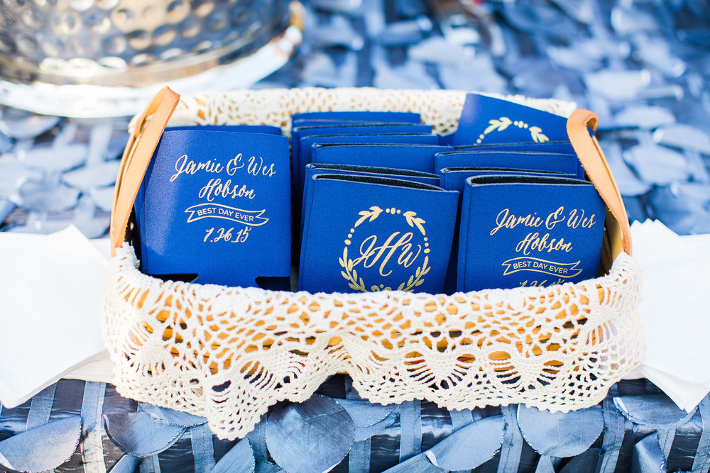 enjoy these photos from the talented robyn van dyke photography in chapel hill nc and get this wreath wedding koozie with monogram design here