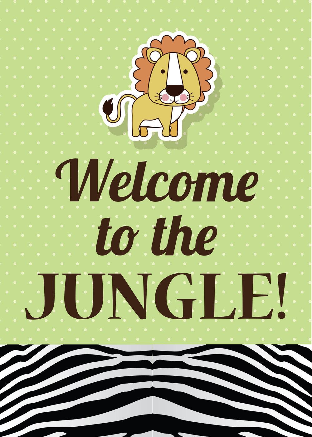 Friday Freebie Safari Theme Party Free Printables Rook