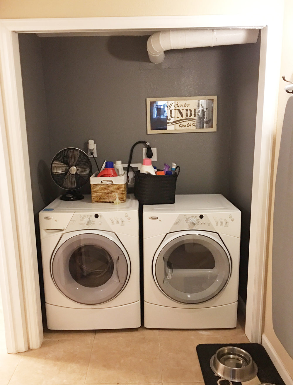 Laundry room makeover the plans rook design co can you even say dream if all you have is a nook hey at least its better than out in our garage prepare yourself for some reallife images solutioingenieria Choice Image