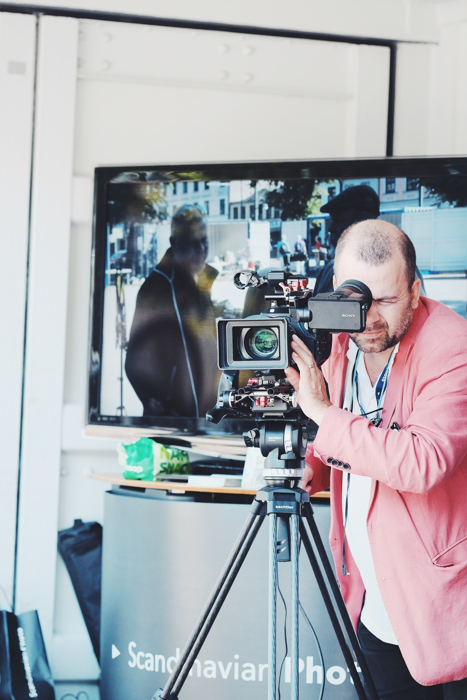 Anders filmade lite 4K med vår FS7.