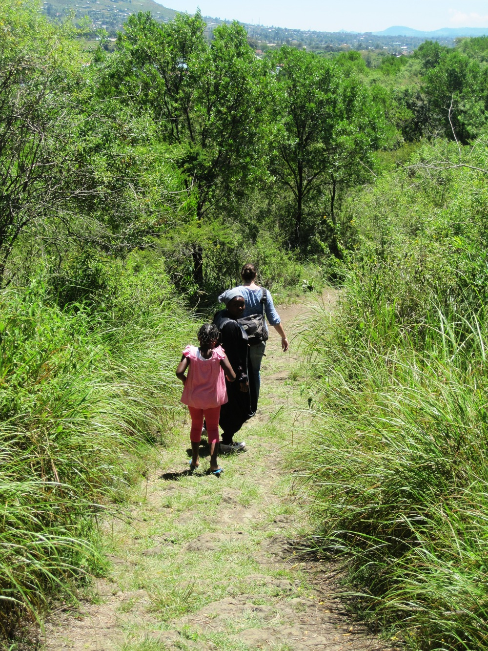 Village Hike - Kenya