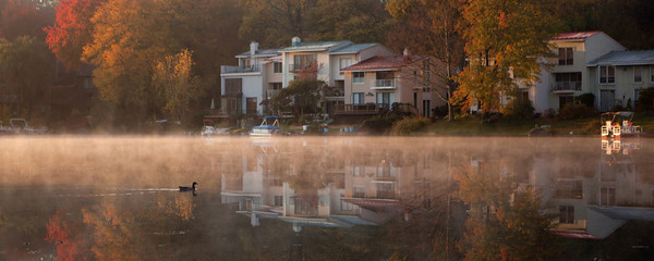 View of Lake Anne | Reston, Virginia