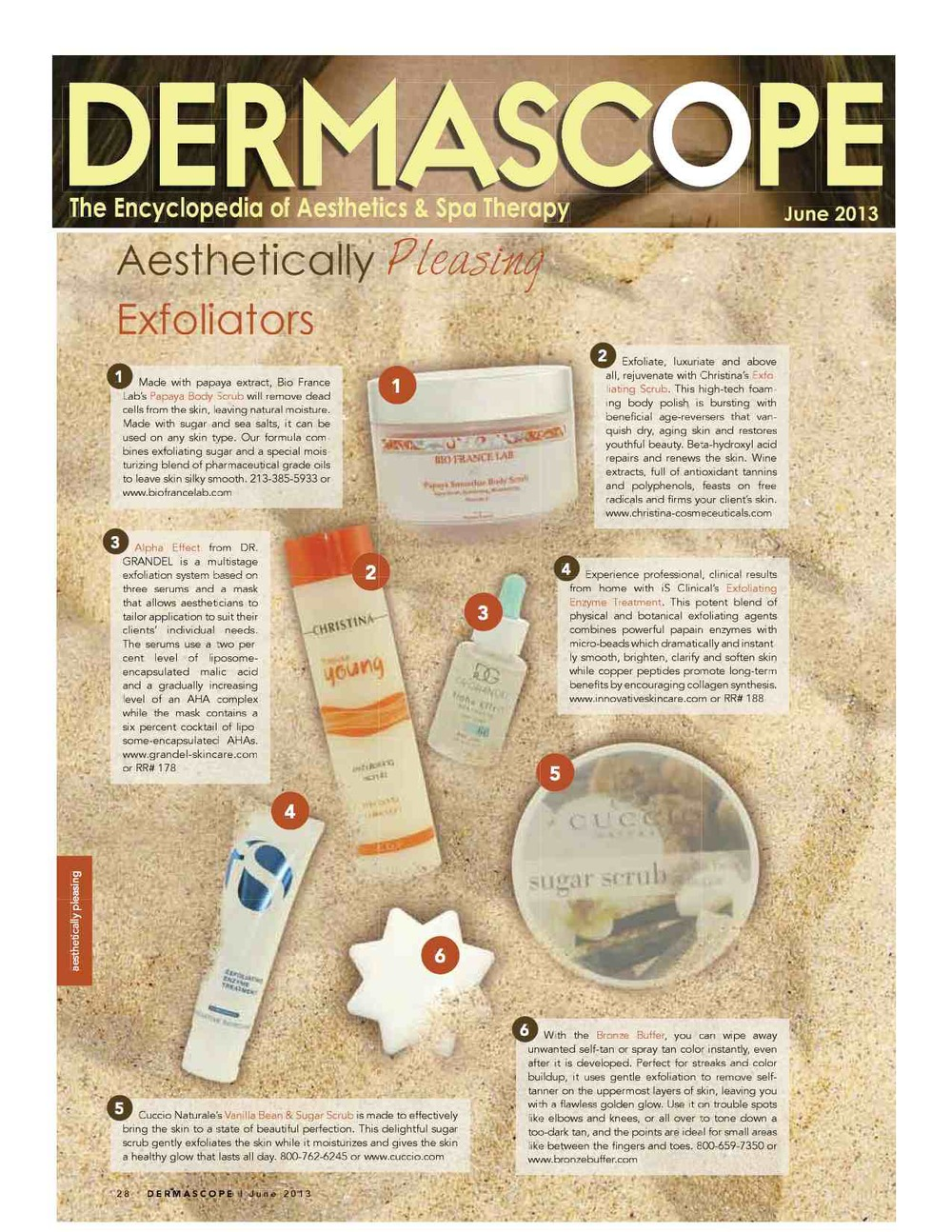 Dermascope June 2013