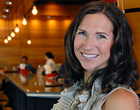 Stephanie Shimp at Blue Plate's newest restaurant, the Lowry in Uptown.